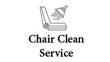 Chair clean service