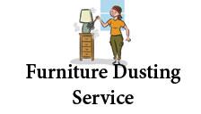 Furniture dusting service