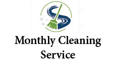 Monthly cleaning service