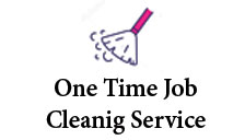 One time job cleaning service