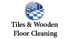 Titles and wooden floor cleaning