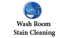 Washroom and stain cleaning