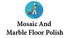 Mosaic and marble floor polish