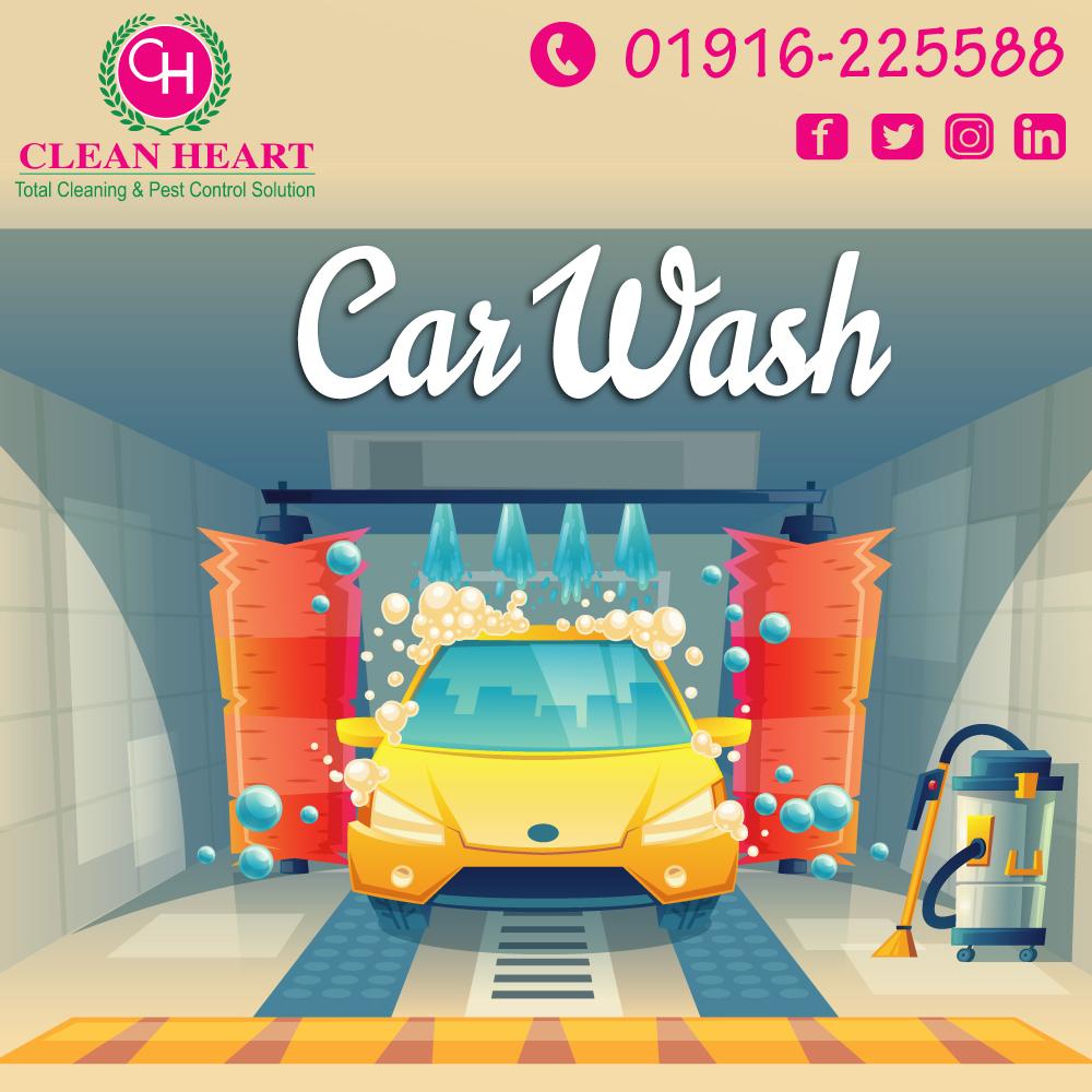 Car wash service at dhaka