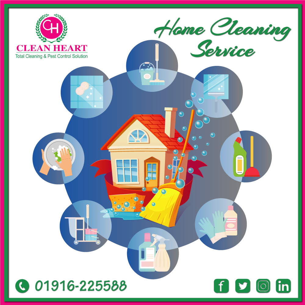 Home cleaning company at dhaka